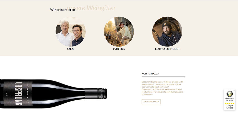 WEiNDOTCOM Weinversand 2