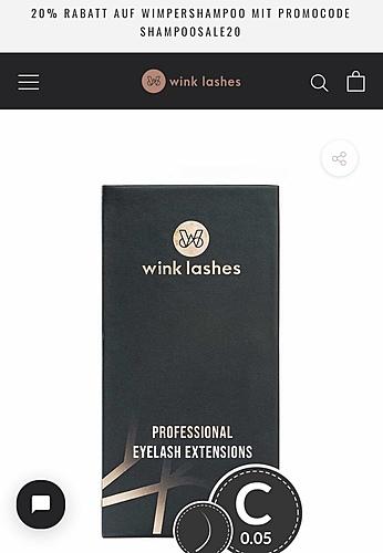 Wink Lashes Online Shop