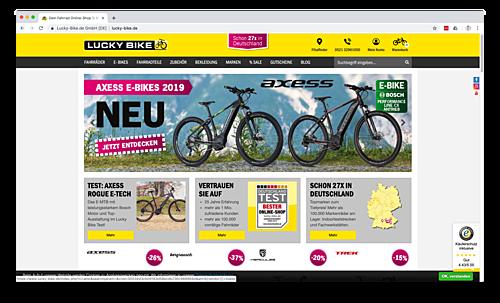 Lucky-Bike Onlineshop