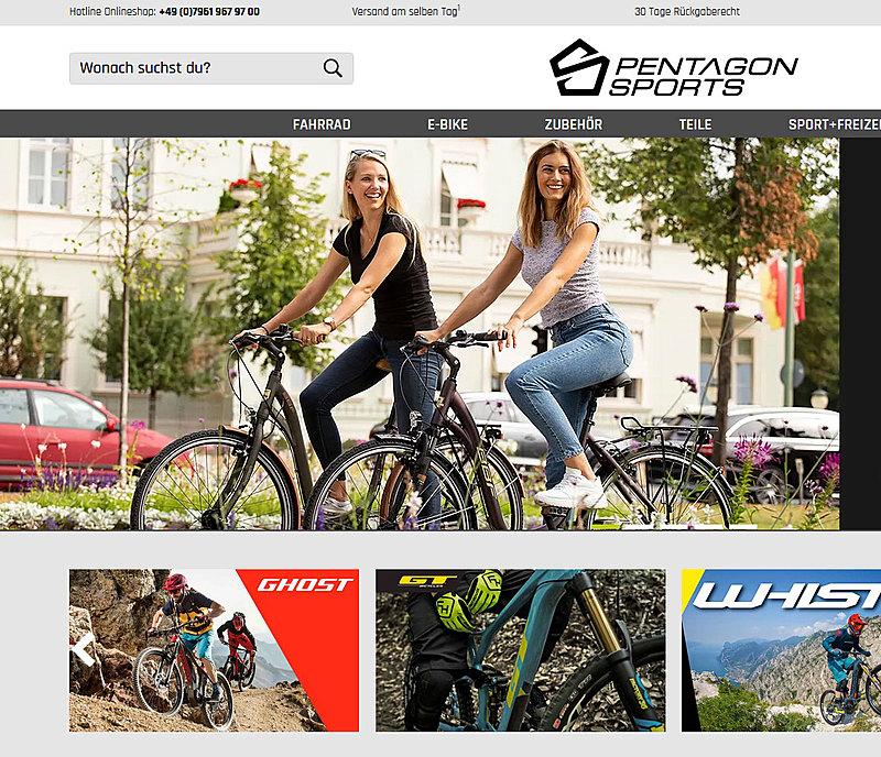 Pentagon Sports Online Shop 1