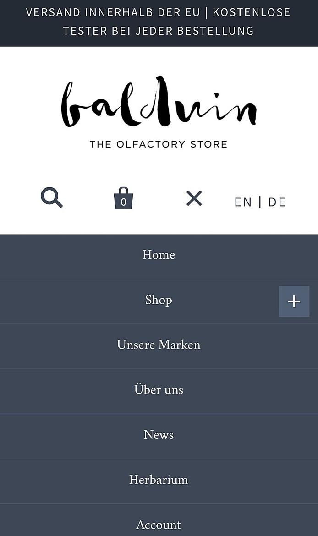 Balduin - the olfactory store 2
