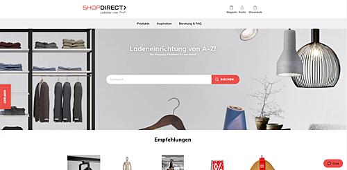 ShopDirect - Ladeneinrichtung OnlineShop