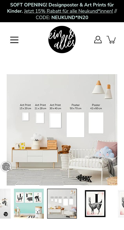 ein & alles Designposter 7