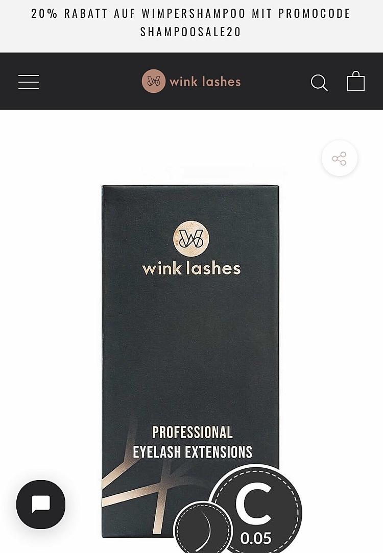 Wink Lashes Online Shop 1