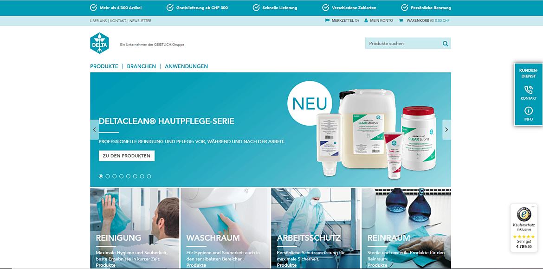 DELTA Online-Shop 1