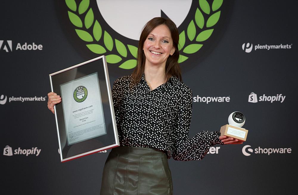 Olga Karsten von REGALRAUM im Interview - Gewinner beim Shop Usability Award 2020
