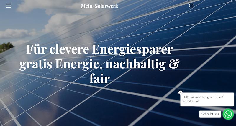 Mein-Solarwerk 1