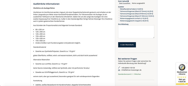 Fahnen Kössinger 5