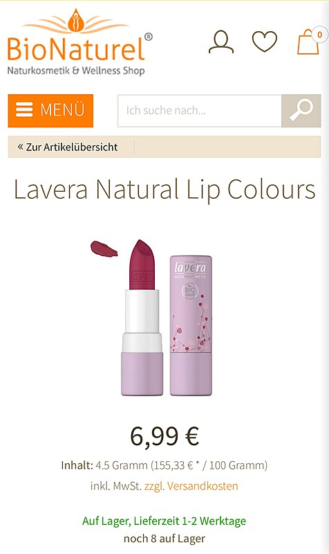 BioNaturel Naturkosmetik Online Shop  5