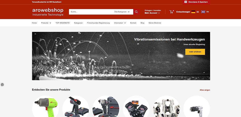 Aro Fluidtechnik Webshop  1
