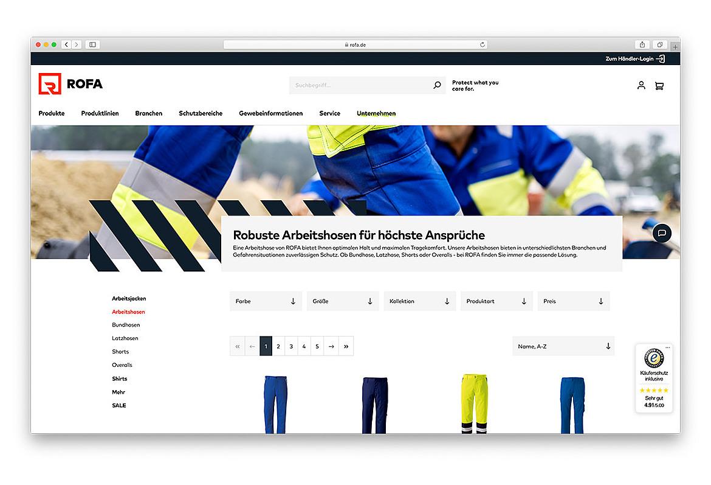 ROFA | Rofa Bekleidungswerk GmbH & Co. KG 4