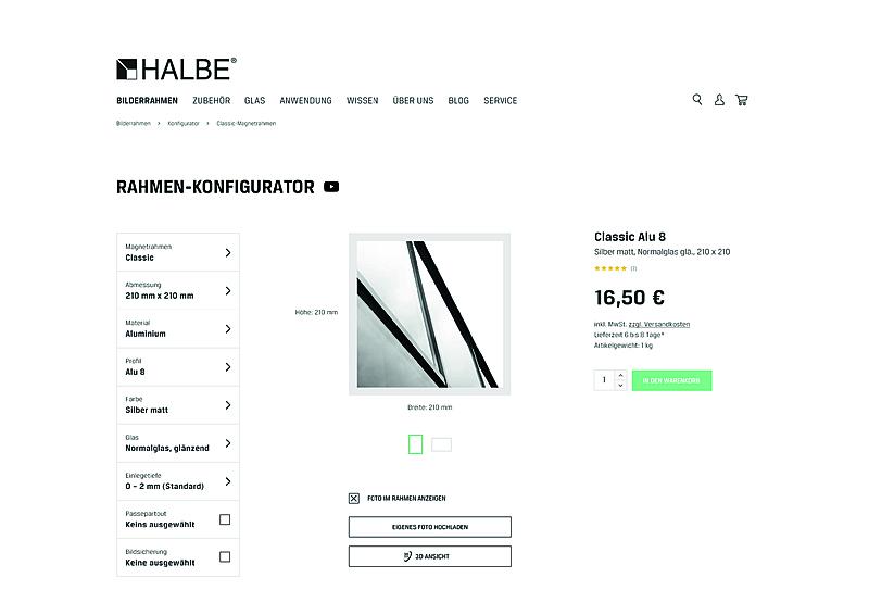 HALBE-Rahmen 1