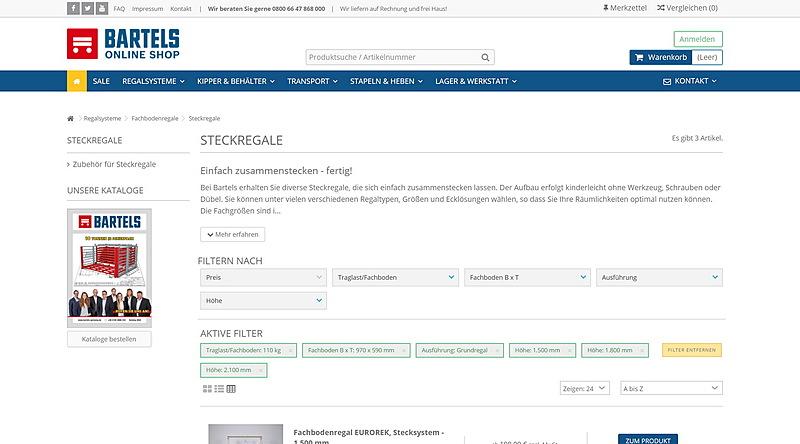 Karl H. Bartels GmbH - Online Shop 10