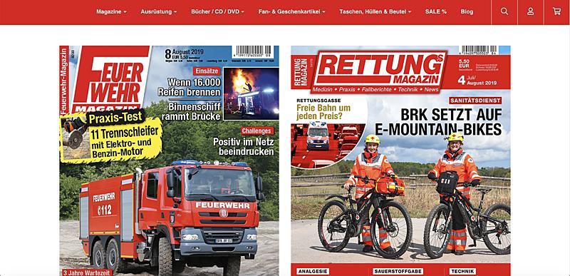 Feuerwehr-Magazin Shop  3