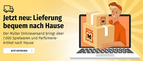 Müller Drogerie startet endlich den echten Online-Shop