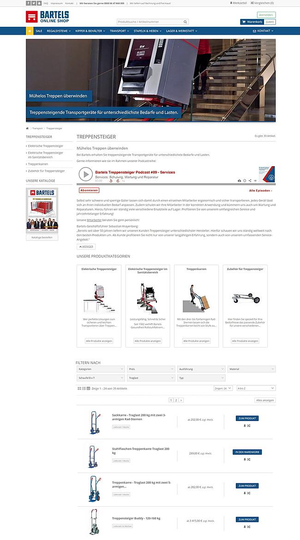 Karl H. Bartels GmbH - Online Shop 7