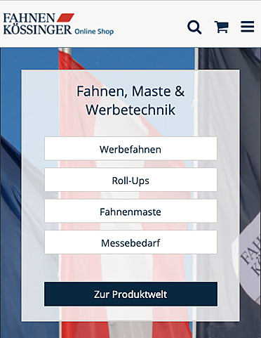 Fahnen Kössinger 2