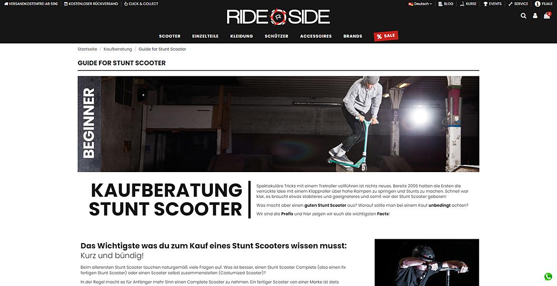 Rideside 8