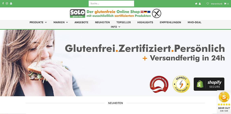 SOLO gluten free GmbH 1