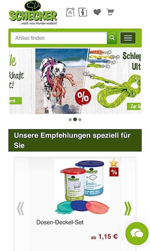 Schecker  - weiß, was Hunde wollen! 1
