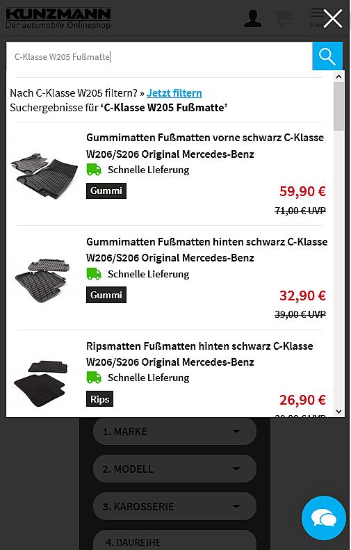 Autohaus KUNZMANN Onlineshop 4