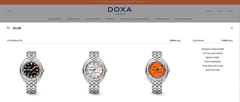 Doxa Watches 5