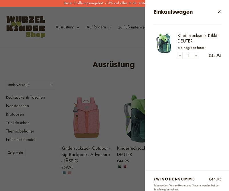 WURZELKINDER Shop 4
