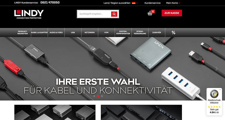 LINDY-Elektronik GmbH  1