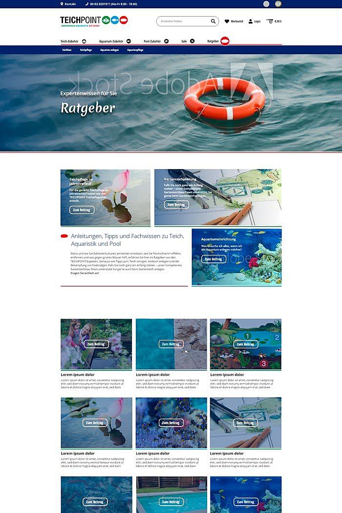 Teichpoint - Gartenteich, Aquaristik und Ratgeber 5