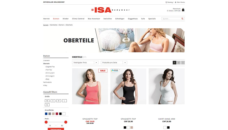 ISA Bodywear 1