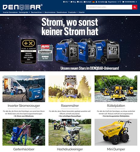 DENQBAR Online-Shop