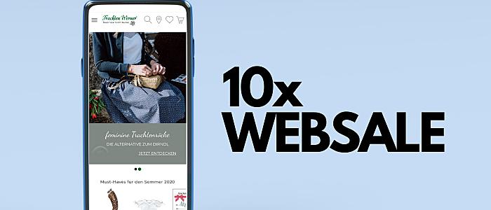 Die 10 besten WEBSALE Shops
