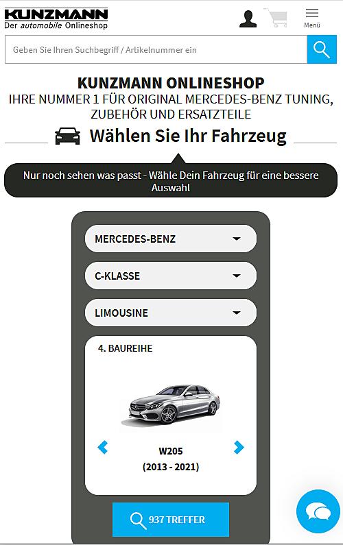 Autohaus KUNZMANN Onlineshop 3
