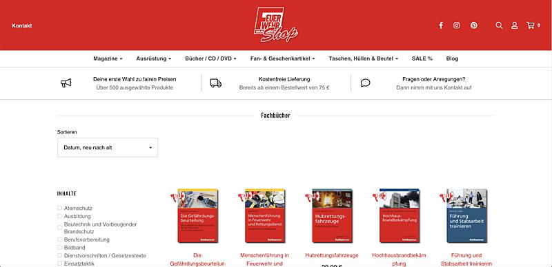 Feuerwehr-Magazin Shop  2