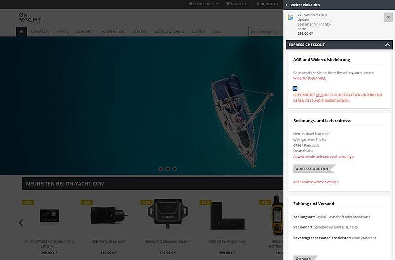 On Yacht - Auf See gebraucht - online gekauft 2