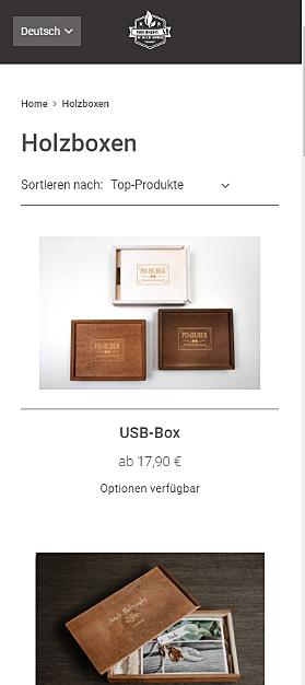 Meine Holzbox 2