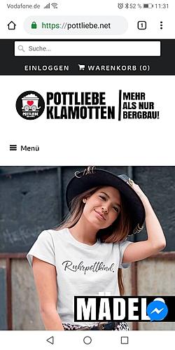 Pottliebe Klamotten