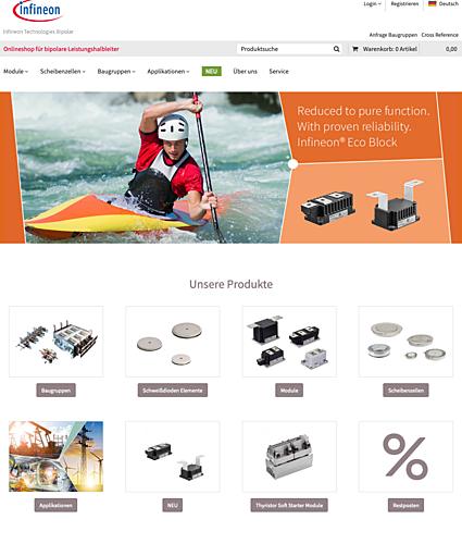 Infineon Technologies Bipolar GmbH & Co. KG Onlineshop