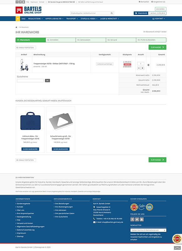 Karl H. Bartels GmbH - Online Shop 5