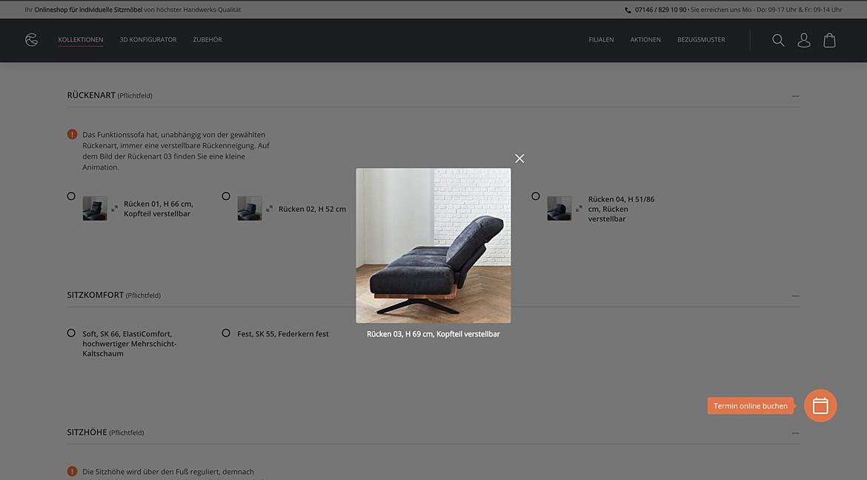 Comfort Polstermöbel Manufaktur 6