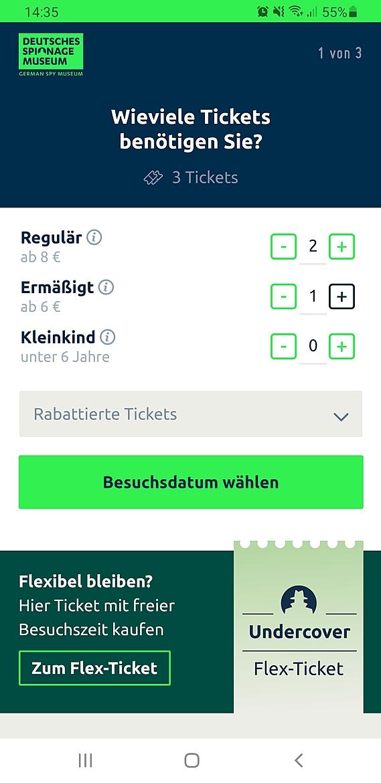 Onlineshop für Tickets & Merchandise Deutsches Spionagemuseum Berlin 2