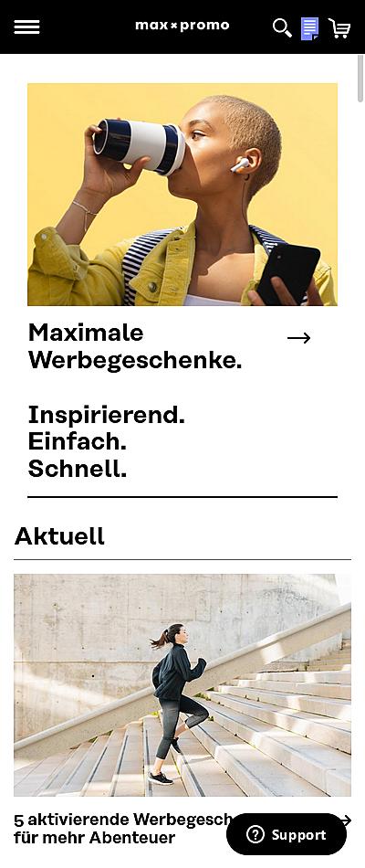 max x promo: Werbeartikel - Inspirierend. Einfach. Schnell 1