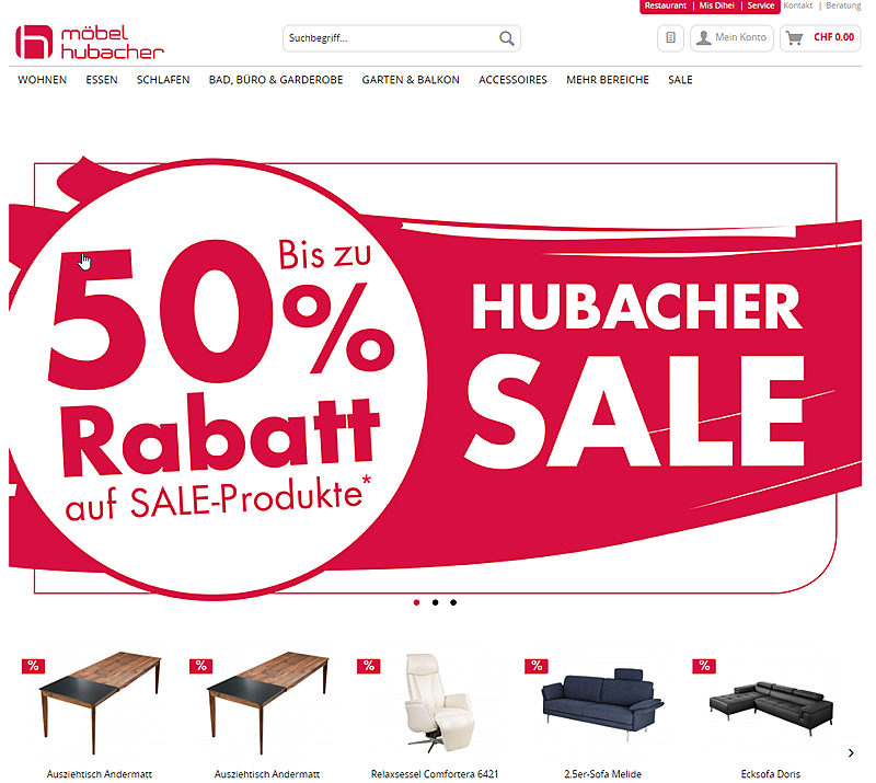 Möbel Hubacher 1