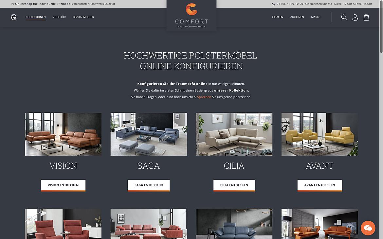 Comfort Polstermöbel Manufaktur 2