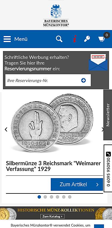 Bayerisches Münzkontor 1