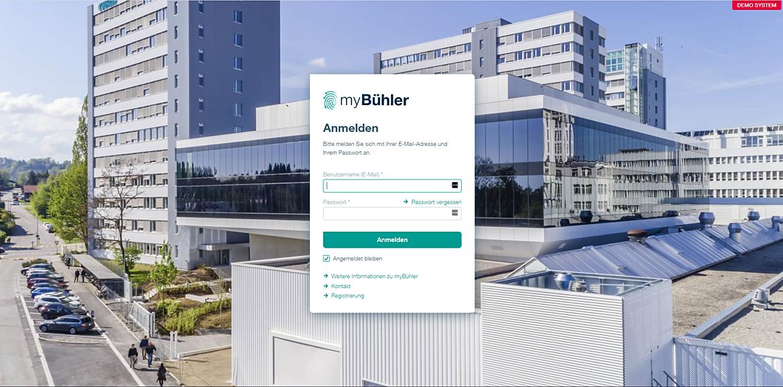 myBühler.com 1
