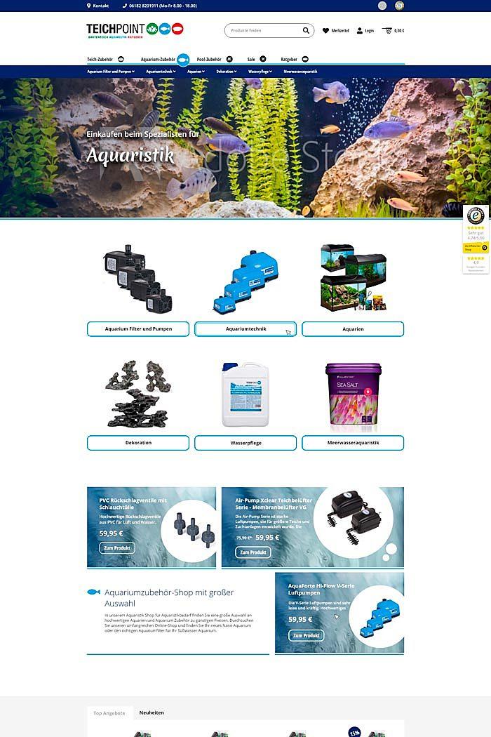 Teichpoint - Gartenteich, Aquaristik und Ratgeber 3