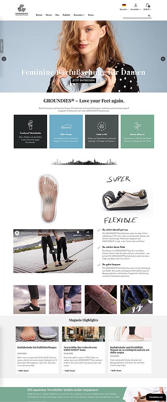 GROUNDIES - Urban Barefootwear 1