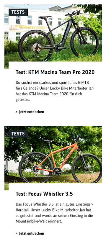 Lucky-Bike Onlineshop 5