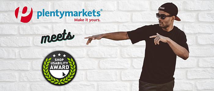 Shop Usability Award® 2021: Das Shopsystem von plentymarkets ganz vorne dabei